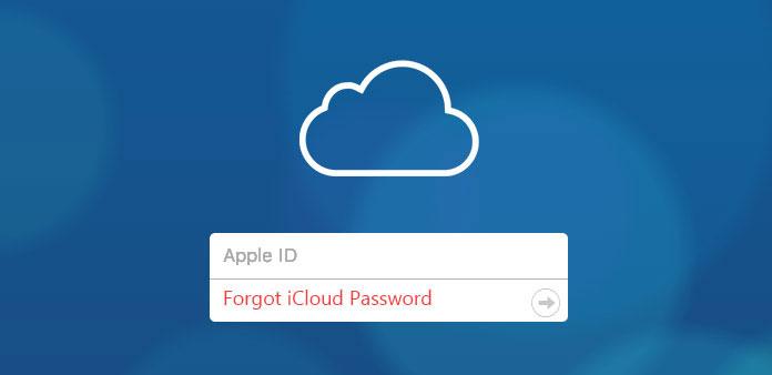 Esqueci a senha do iCloud
