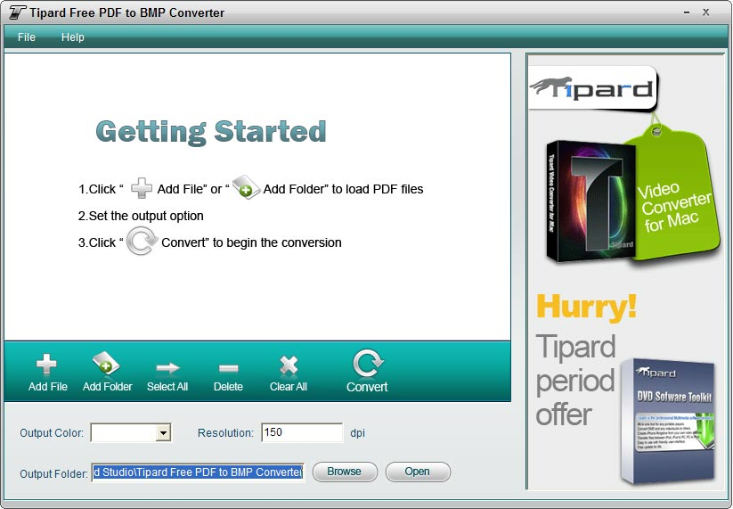 Free pdf to bmp converter convert pdf content to bmp format tipard