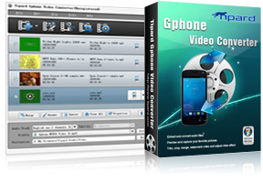 Gphone Video Converter Screen