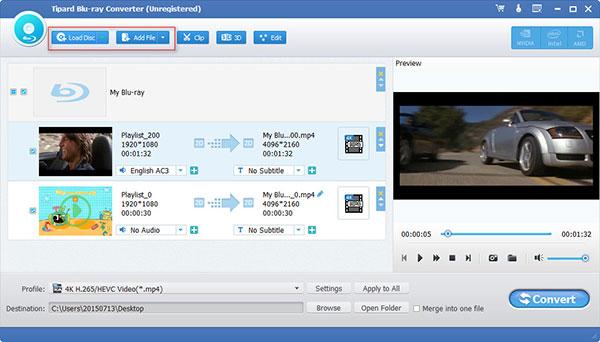 Blu-ray-converter van Tipard
