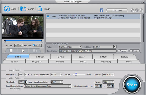 WinX DVD Ripper per Mac