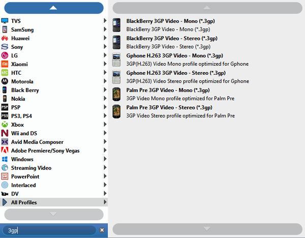 Vælg ps3 output fil