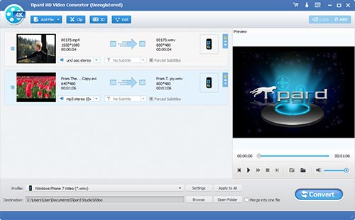 How to Rip BD/ DVD and Convert Video to DivX, MP4, AVI, 3GP, MPEG, FLV, etc. Screen