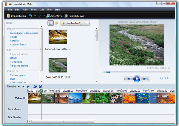 Best youtube editor software to edit youtube videos for free windows movie maker is a free youtube video editor software for windows which has a variety of functions to create edit enhance and publish your videos ccuart Image collections