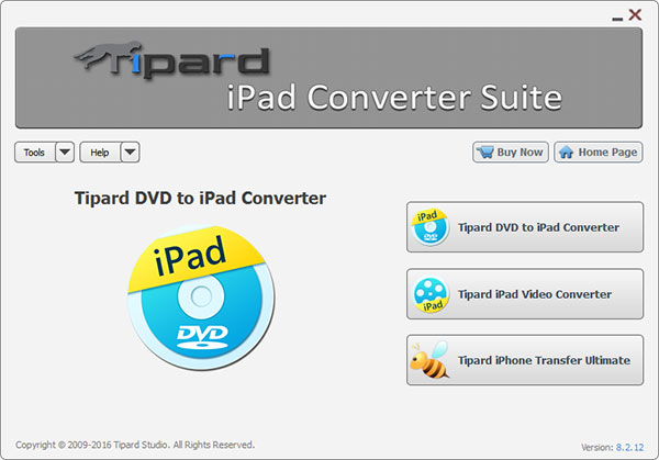 Click to view Tipard iPad Converter Suite screenshots