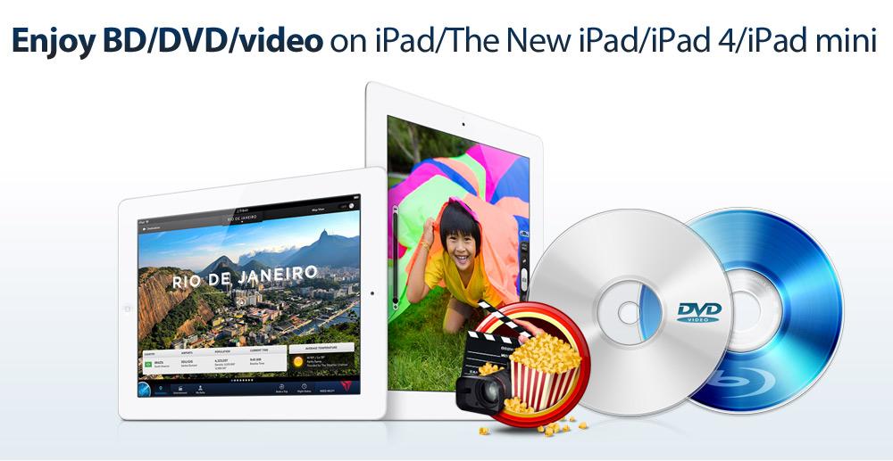 Blu-ray to iPad 4
