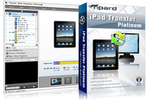 iPad Transfer Platinum Screen