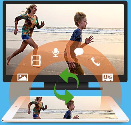 transfert iPad pro