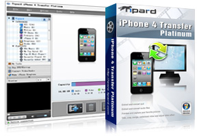 iPhone 4 Transfer Platinum Screen