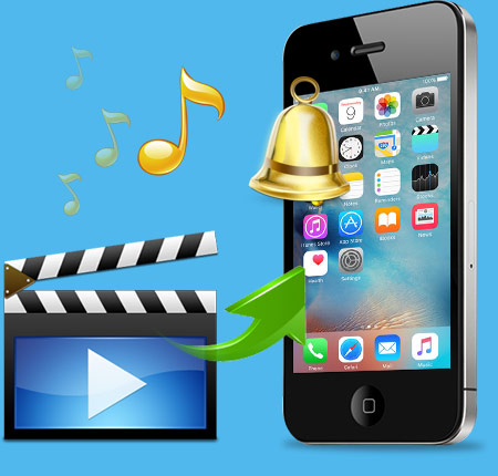 how to set ringtone on iphone 4