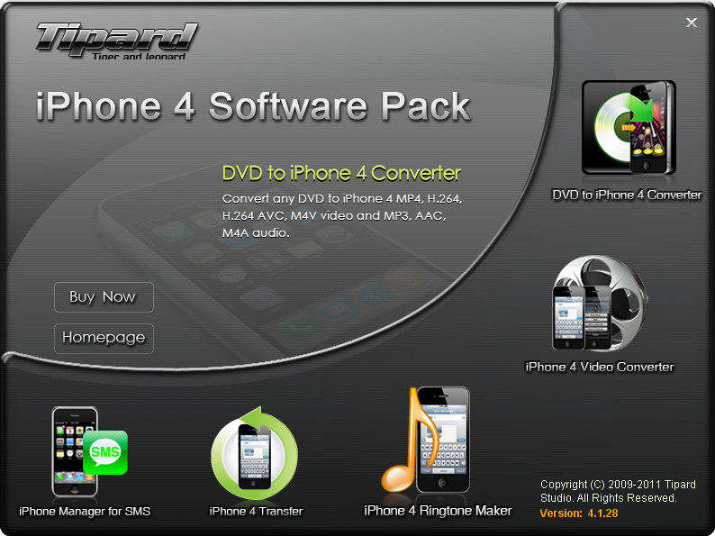 iphone 4 software, iphone 4 software pack, rip dvd to iphone 4, convert video to iphone 4, create iphone 4 ringtone, iphone 4 tr