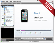 Click to view Tipard iPhone 4G to PC Transfer screenshots