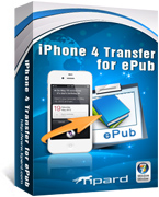 Tipard iPhone 4G Transfer for ePub boxshot