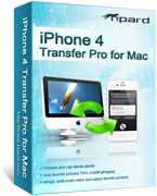 Tipard iPhone 4G Transfer Pro for Mac boxshot