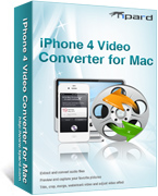 Tipard iPhone 4G Video Converter for Mac boxshot