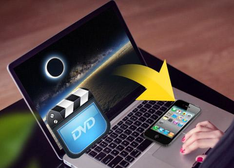 Käännä DVD iPhone 4S -tuotteille
