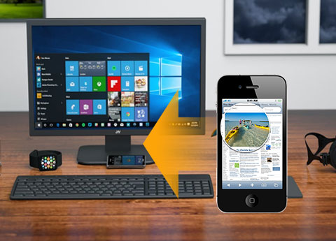 Trasferisci i file da iPhone 4S al PC