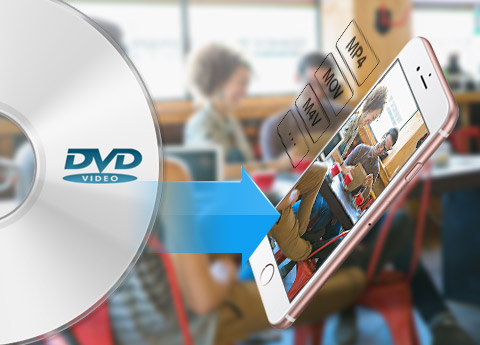 Converteer dvd naar populaire video's