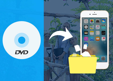 Converti DVD in file supportati da iPhone