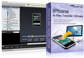 iPhone to Mac Transfer Ultiamte box and screen