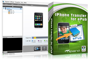 iPhone Transfer for ePub box and screen