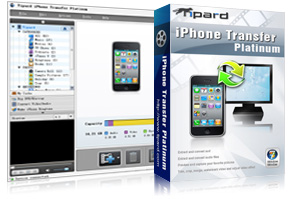 iPhone Transfer Platinum box and screen
