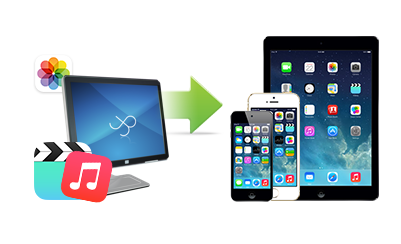 Transfer files from PC to iOS device