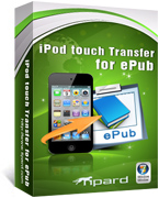 ipod touch transfer for epub
