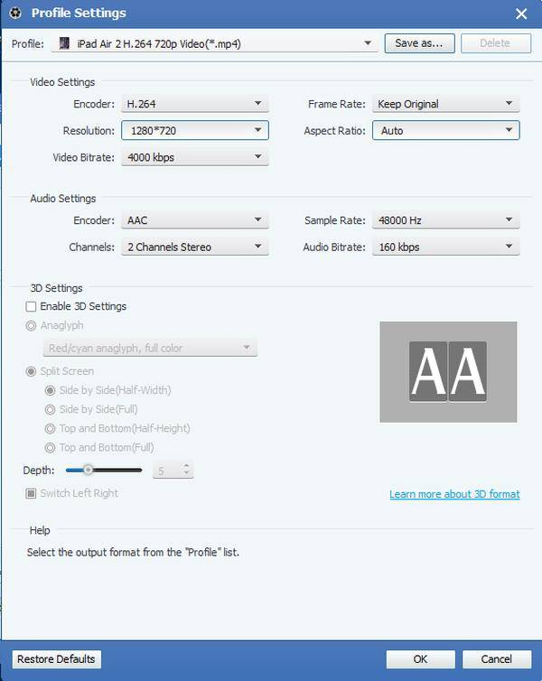 M2TS till iPad Converter, M2TS Converter