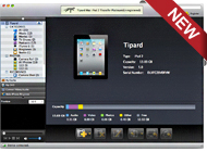 Mac iPad 2 Transfer Platinum Screen