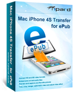 Mac iPhone 4S Transfer for ePub