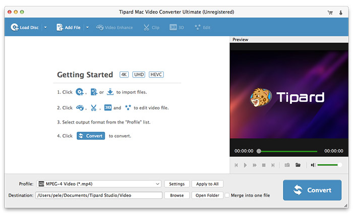 Start YouTube til MP4 Downloader for Mac