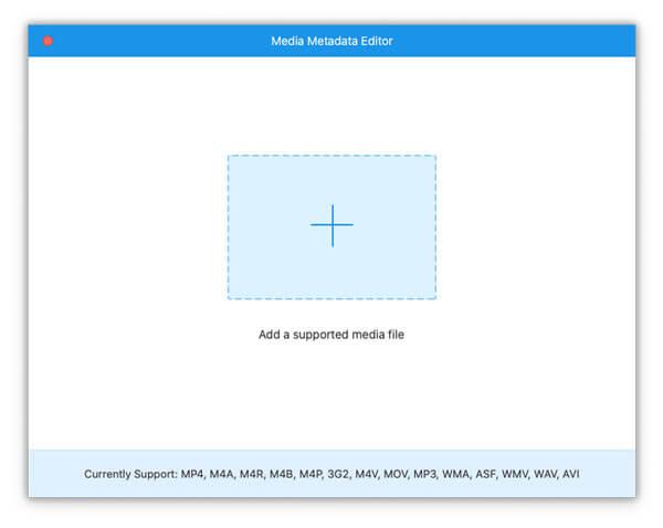 محرر بيانات تعريف الوسائط