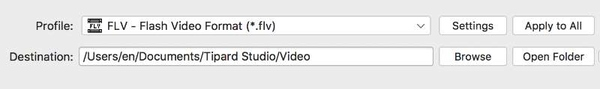 Converter MKV Video para FlV no Mac