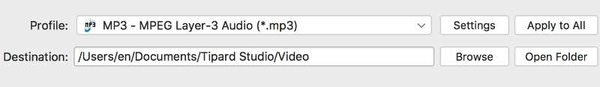 Converti MKV Video in MP3 su Mac