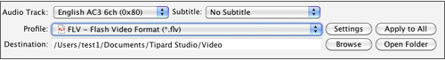 Convert MKV Video to FlV on Mac