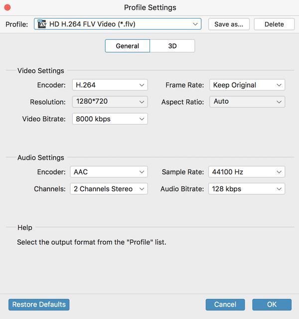 Μετατροπέας MKV σε FLV για Mac, μετατροπέα Mac MKV