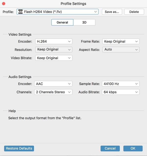 MKV Video til H.264 Converter for Mac, Mac MKV Converter
