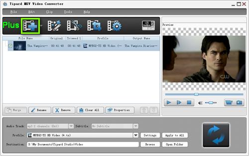 How to convert MKV to AVI, WMV, MP4, MOV, 3GP, FLV, etc Load-mkv