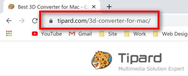 Adres URL konwertera 3D dla komputerów Mac