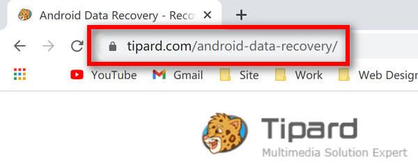 URL til Android-datagendannelse