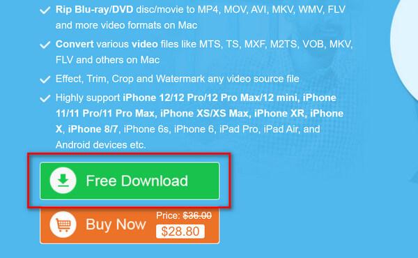 Μετατροπέας Blu-ray για Mac Δωρεάν λήψη