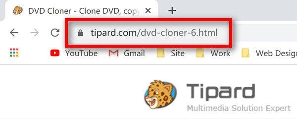 URL-адрес DVD Cloner