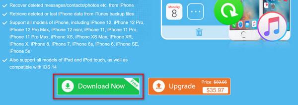 Download gratuito di recupero dati per iPhone