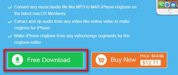 iPhone Ringtone Maker pro Mac Stažení zdarma