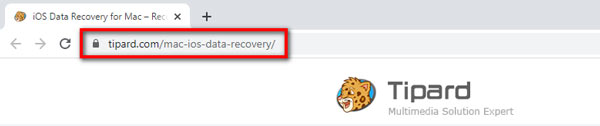 iOS Data Recovery for Mac URL