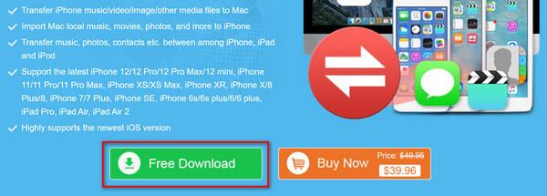 iPhone Transfer gratis downloaden