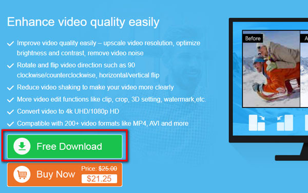 Darmowe pobieranie Mac Video Enhancer