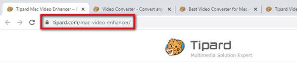 Adres URL programu Mac Video Enhancer
