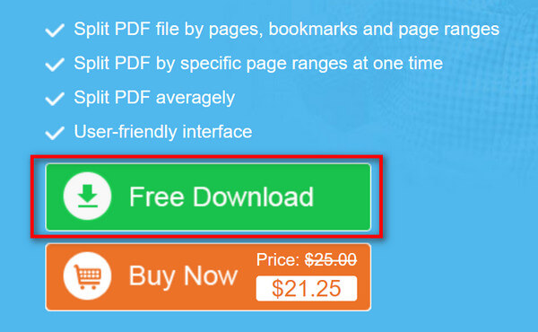 PDF Cutter ke stažení zdarma